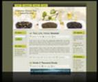Thumbnail Green Tea Wordpress Theme