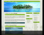 Thumbnail Palm Tree Island Wordpress Theme